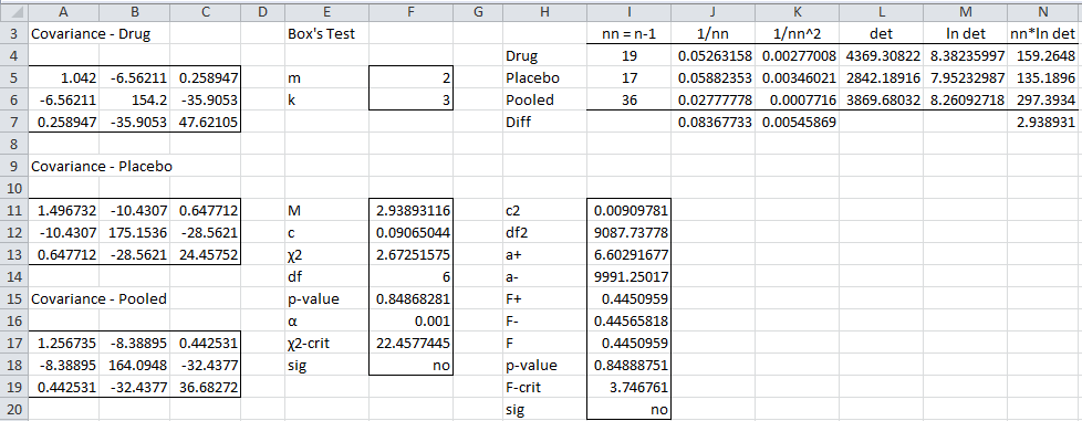 how to make a t test in excel 2013